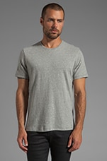 Kinsley Crewneck T-Shirt in Cement Grey