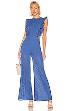 THE JETSET DIARIES Down By The Water Jumpsuit in Navy