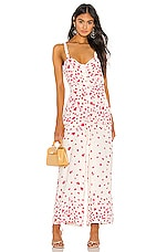 THE JETSET DIARIES Falling For You Jumpsuit in Falling For You Floral Print