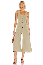 THE JETSET DIARIES Shake It Out Jumpsuit in Sage