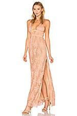 THE JETSET DIARIES Gabrielle Maxi Dress in Copper