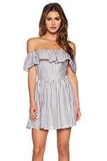 THE JETSET DIARIES Mulher Bonita Dress in Stripe