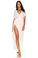 THE JETSET DIARIES Tanzania Maxi Dress in White