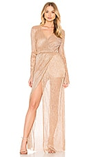 THE JETSET DIARIES Avalon Maxi Dress in Blush