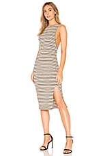 THE JETSET DIARIES Roller Girl Dress in Multi Stripe