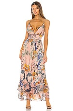 THE JETSET DIARIES Oh Sweet Nothing Maxi Dress in Pink