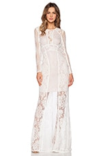 Escape Maxi Dress in White