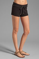 Terry Public Short in Black