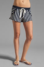 Harbor Stripe Short in Regal Stripe