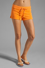 Terry Public Short in Tangerine