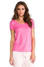 Modal Tee in Light Helium Pink