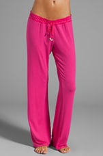 Pantalon Sleep Essential en Litchi