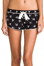 Songbird Charmeuse Short in Pitch Black Songbird