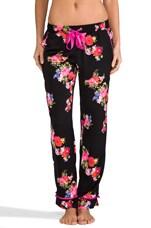 Jazzy Floral PJ Pant in Black & Jazzy Floral