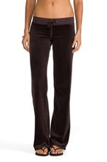 Classic Velour Original Leg Pant in Chestnut