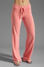Terry Original Leg Pant in Bubblegum