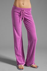 Terry Original Leg Pant in Crocus