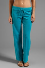 Choose Juicy Velour Pant in South Pacific