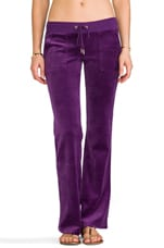 J Bling Bootcut Pant in Jeweled Plum