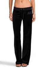 Jewles Velour Pant in Black