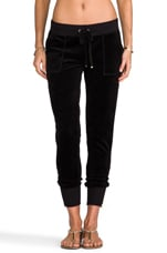 Ankle Zip Pant in Black