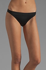 Miss Divine Hearts Button Flirt Bottom in Black