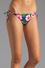 Wild Flower Flirt String Bottom in Regal