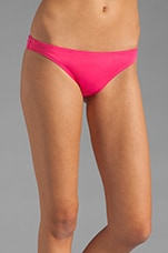 Miss Divine Hearts Button Flirt Bottom in Pink Berry