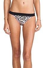 Sport Banded Flirt Bottom in Wildcat Block