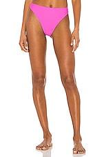 Juillet Edie Bikini Bottom in Positano Pink