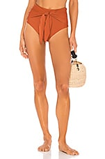 Juillet Brooke Bikini Bottom in Ginger