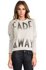 Junk Food Fade Away Pullover in Gold Heather