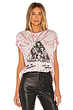Junk Food Pink Floyd Live In Concert Tee in White