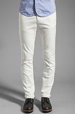 Denim Pant in White