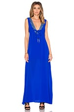 ROBE MAXI CATHY BEADED