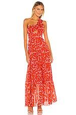 Karina Grimaldi Lola Print Dress in Geo Print
