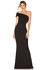 Katie May Titan Gown in Black