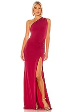 Katie May Attention Seeker Gown in Ruby