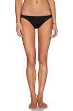 Georgica Beach Bikini Bottom in Black