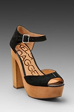 Wynette Platform Heel in Black