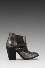 Jalynn Bootie in Pewter/Black