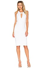 KENDALL + KYLIE Cut Out Dress in Bright White