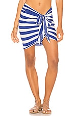 KENDALL + KYLIE Sarong in Royal Stripe