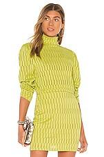KENDALL + KYLIE Puff Sleeve Top in Stripe