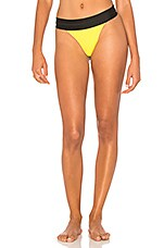 KENDALL + KYLIE X REVOLVE High Waisted Contrast Bottom in Yellow