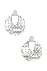 Kendra Scott Diane Earrings in Rhodium