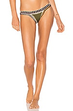 KIINI Wren Bikini Bottom in Olive & Multi
