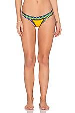 Ro Bikini Bottom in Yellow & Multi