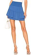krisa X REVOLVE Smocked Skirt in Vista