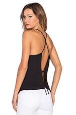 Open Back Cami in Black